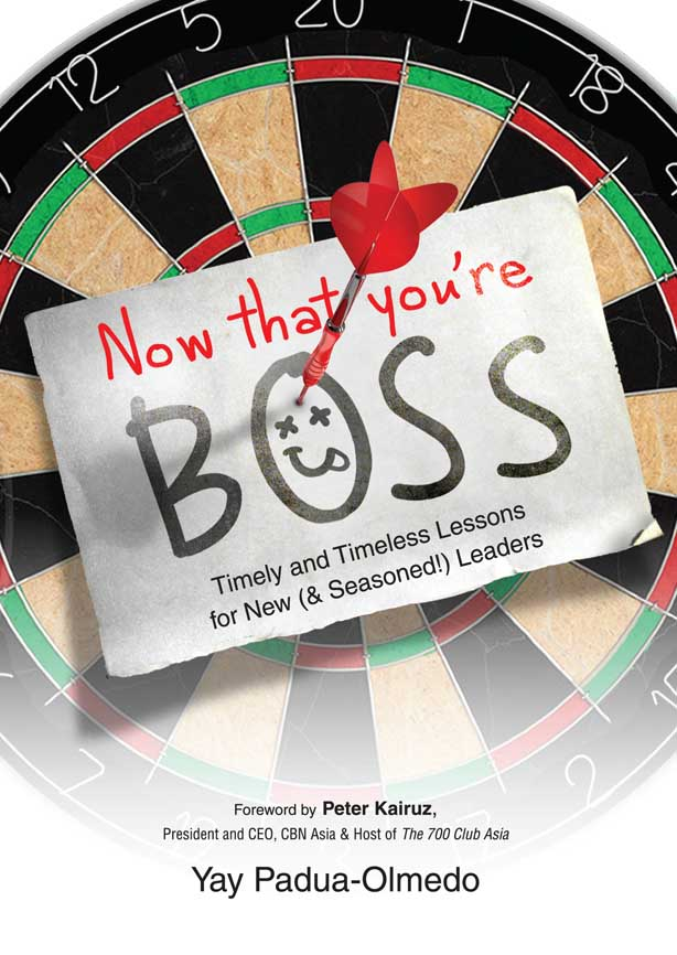 BOOK REVIEW and GIVEAWAY: Now That You're Boss, Timely and Timeless Lessons for New (& Seasoned) Leaders